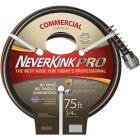 Neverkink Pro 3/4 In. Dia. x 75 Ft. L. Commercial Garden Hose Image 1