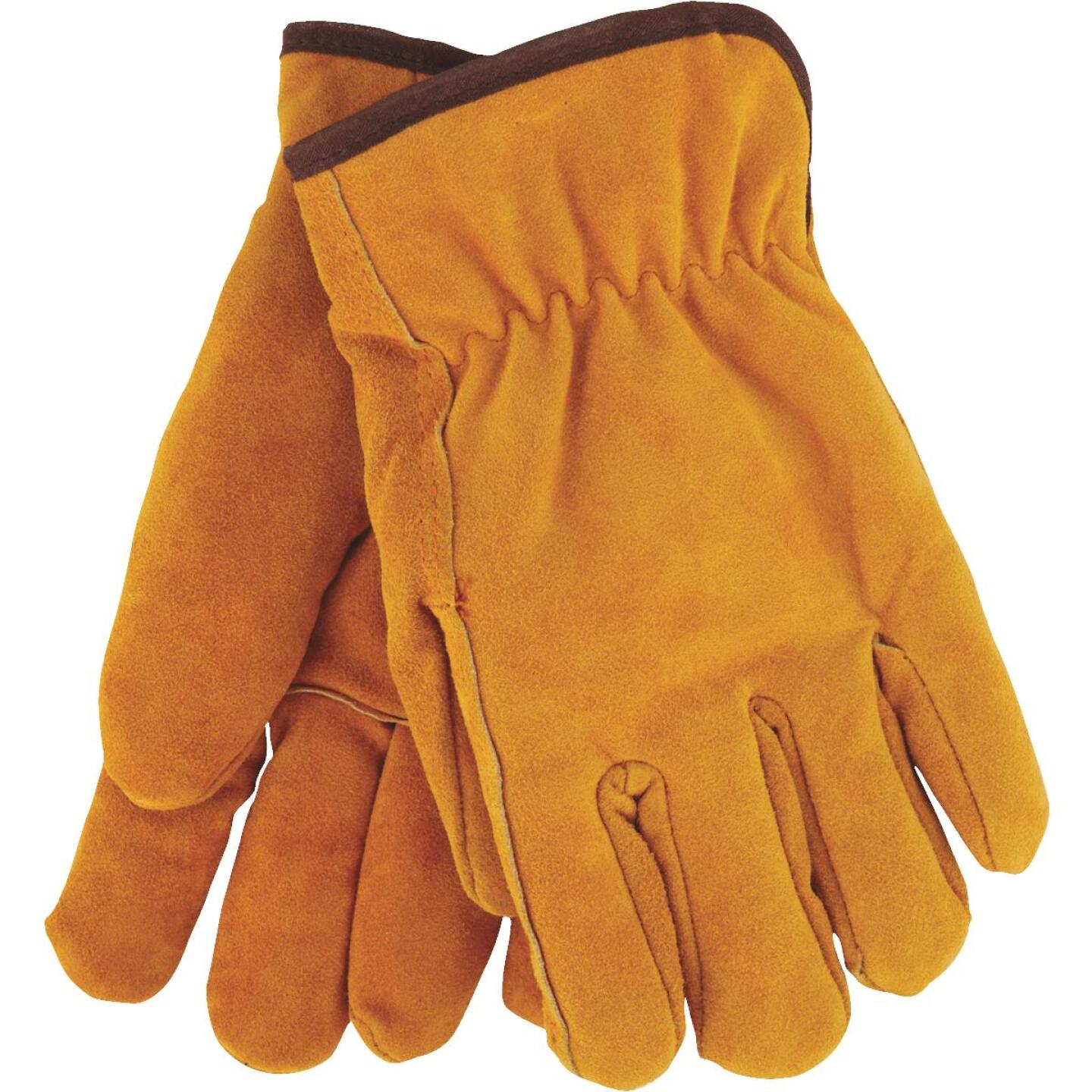 Do it Men's Large Lined Leather Winter Work Glove Image 1