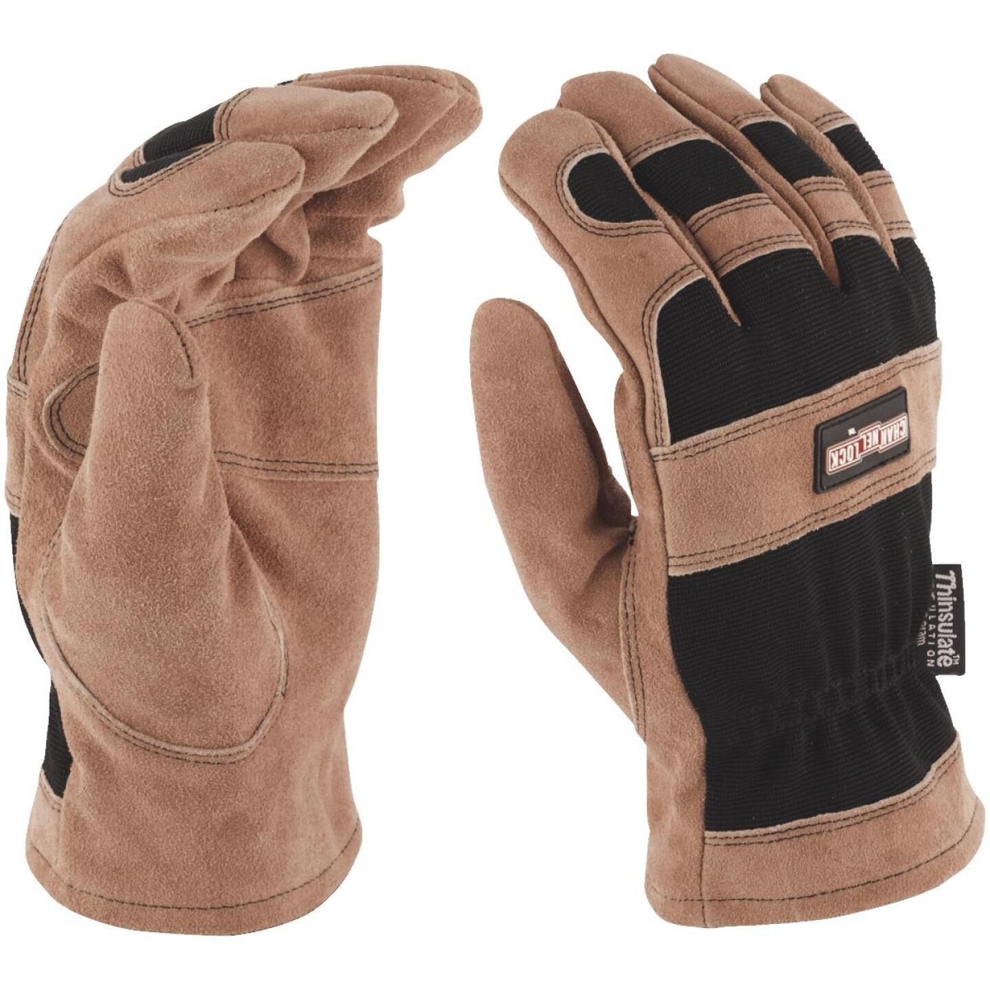Channellock Men's Large Leather Winter Work Glove Image 2