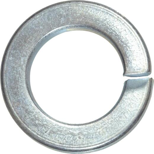 Hillman 1/4 In. Hardened Steel Zinc Plated Split Lock Washer (100 Ct.)