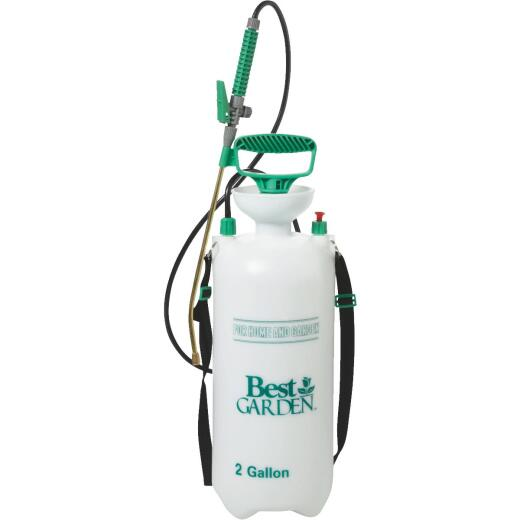 Best Garden 2 Gal. Tank Sprayer with Brass Wand