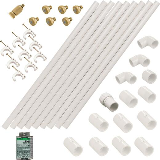 Orbit Az Mist 1/2 In. x 12 Ft. PVC Outdoor Misting Kit