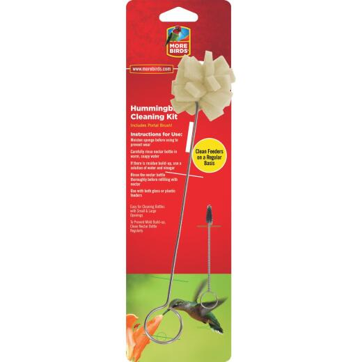 More Birds Hummingbird Feeder Foam Sponge Cleaning Kit