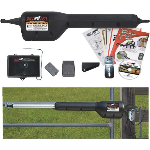 Mighty Mule MM271 12 Ft. 300 Lb. Single Gate Opener Kit