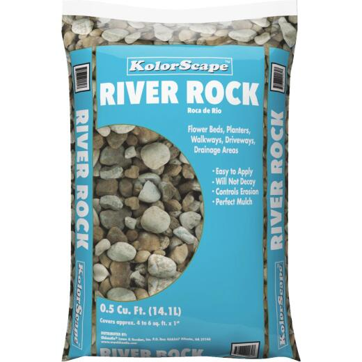 KolorScape 0.5 Cu. Ft. River Rock