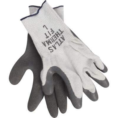 Atlas Therma-Fit Men's Large Latex-Dipped Knit Winter Glove