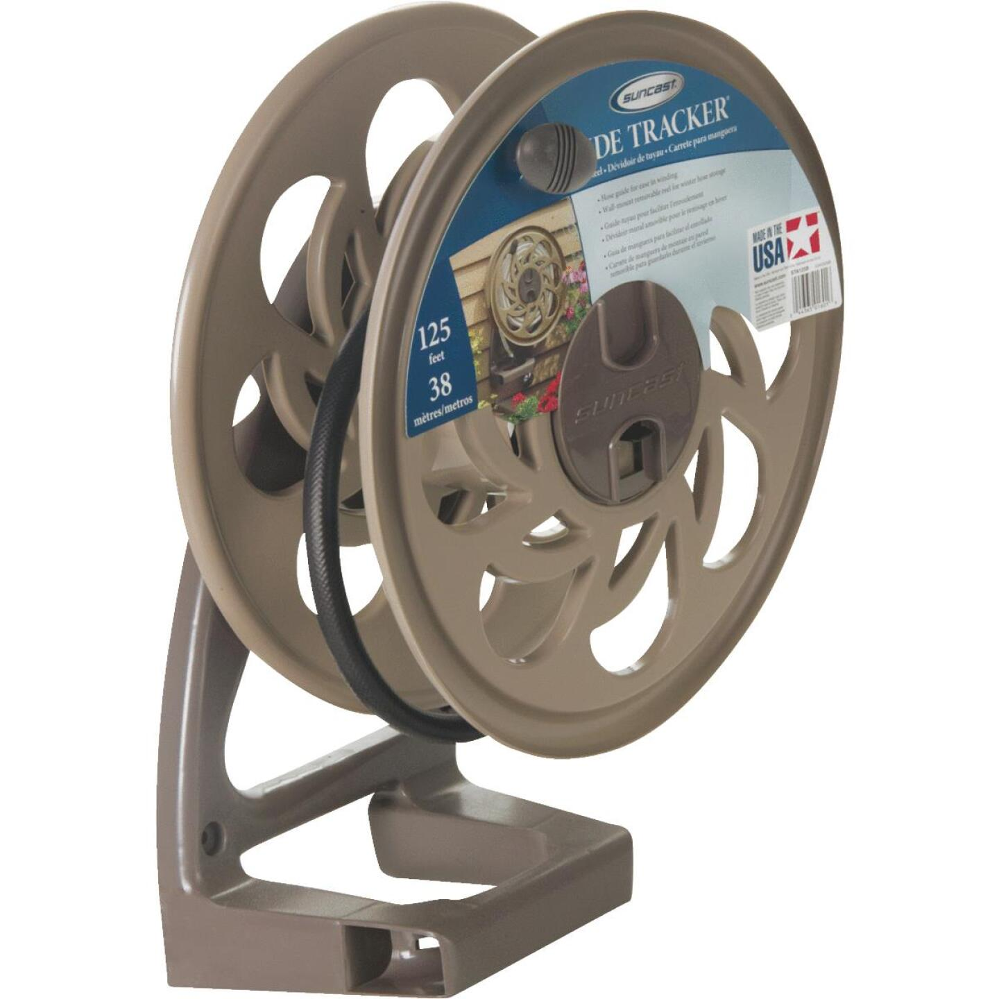 Suncast Sidetracker 125 Ft. x 5/8 In. Taupe Resin Hose Reel Image 2