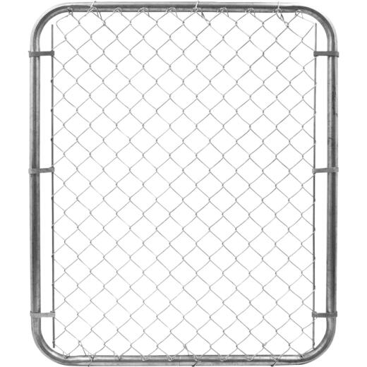 Yard Gard Single Walk 48 In. H. Adjustable Chain Link Gate