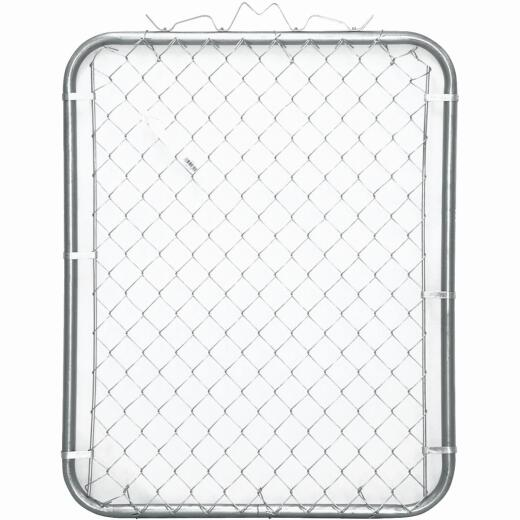 Midwest Air Tech Single Walk 43 In. W. x 46 In. H. Chain Link Gate