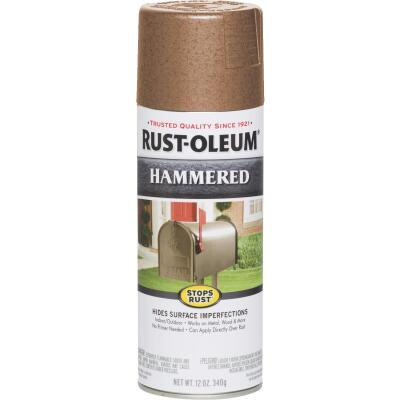 Rust-Oleum Copper Metallic 12 Oz. Hammered Finish Spray Paint