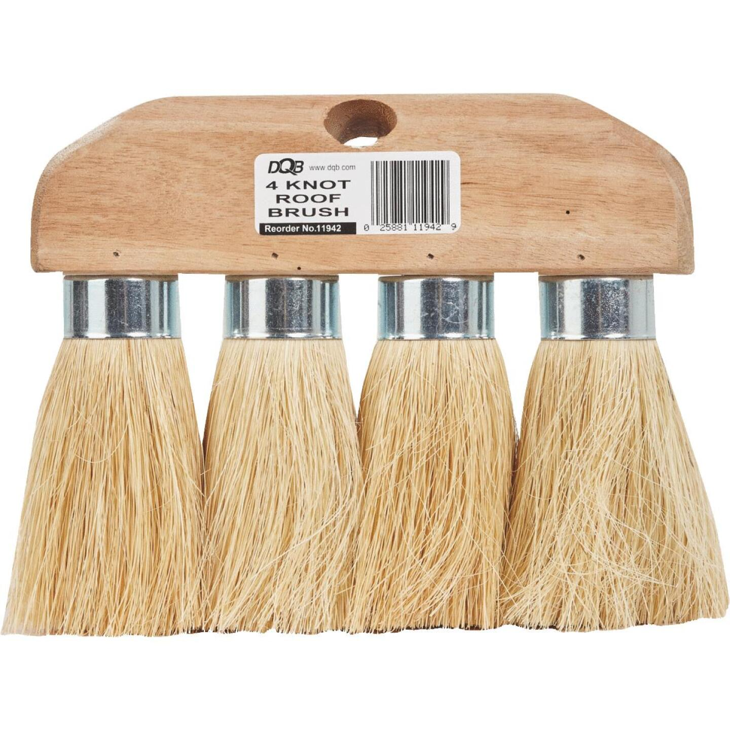 DQB 3-1/2 In. x 4-Knot Tampico Roof Brush Image 2