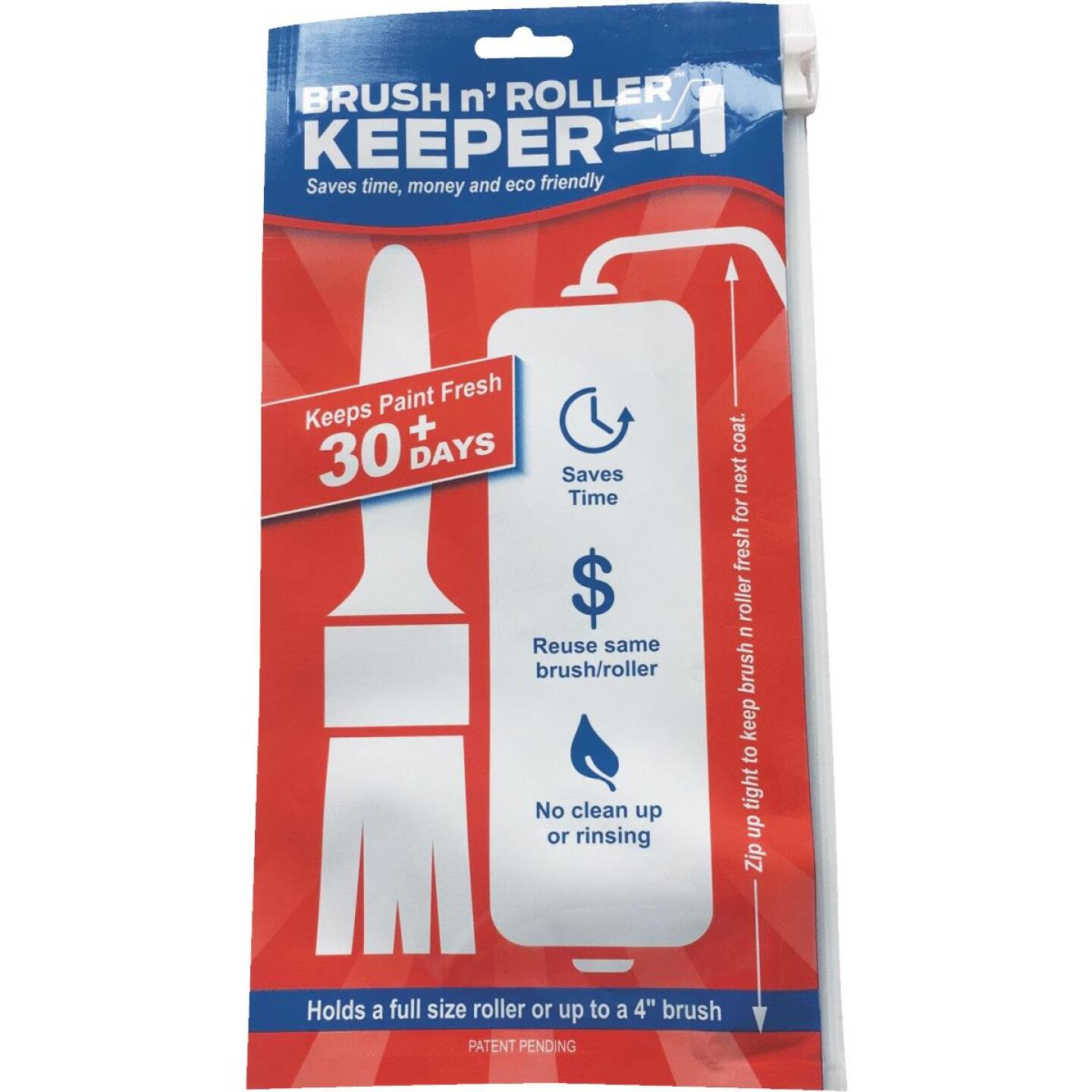 Brush 'n Roller Keeper 5 In. x 11 In. Paint Brush & Roller Cover Image 1