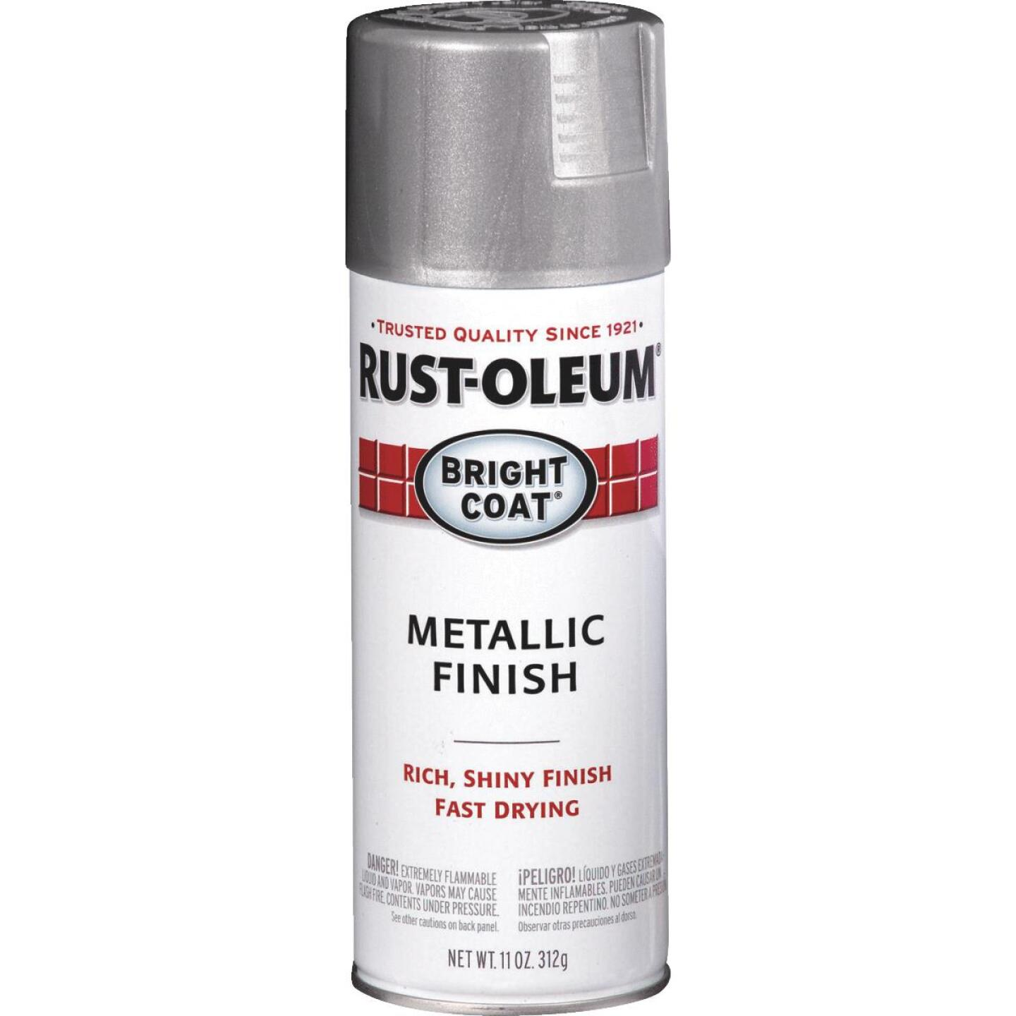 Rust-Oleum Bright Coat Bright Aluminum Gloss 11 Oz. Anti-Rust Spray Paint Image 1