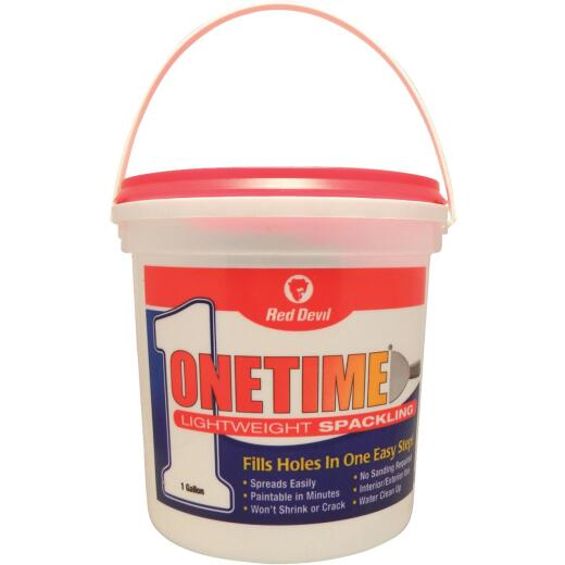 Red Devil Onetime 1 Gal. Lightweight Acrylic Spackling Compound