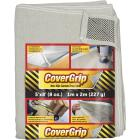 CoverGrip 5 Ft. x 8 Ft. 8 Oz. Non-Slip Safety Drop Cloth Image 1