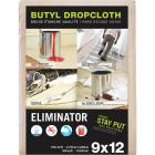 Trimaco Eliminator Butyl-Back Canvas 9 Ft. x 12 Ft. Heavy-Duty Drop Cloth Image 1