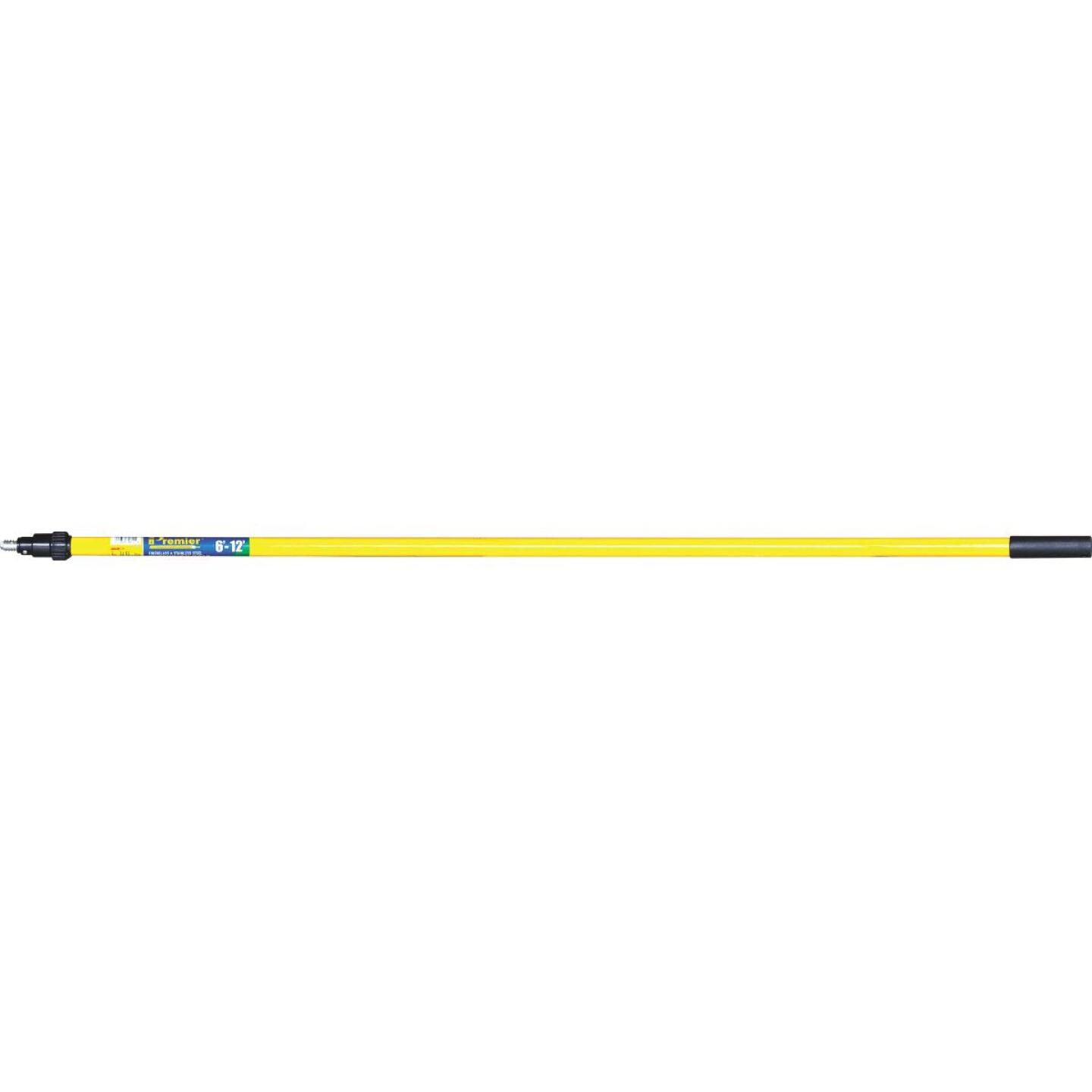 Premier 6 Ft. To 12 Ft. Telescoping Fiberglass & Stainless Steel External Twist Extension Pole Image 1