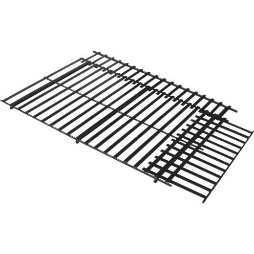 GrillPro 21-1/2 In. to 24-1/2 In. W. x 13-1/2 In. to 16-1/2 In. D. Porcelain-Coated Steel Universal Adjustable Grill Grate