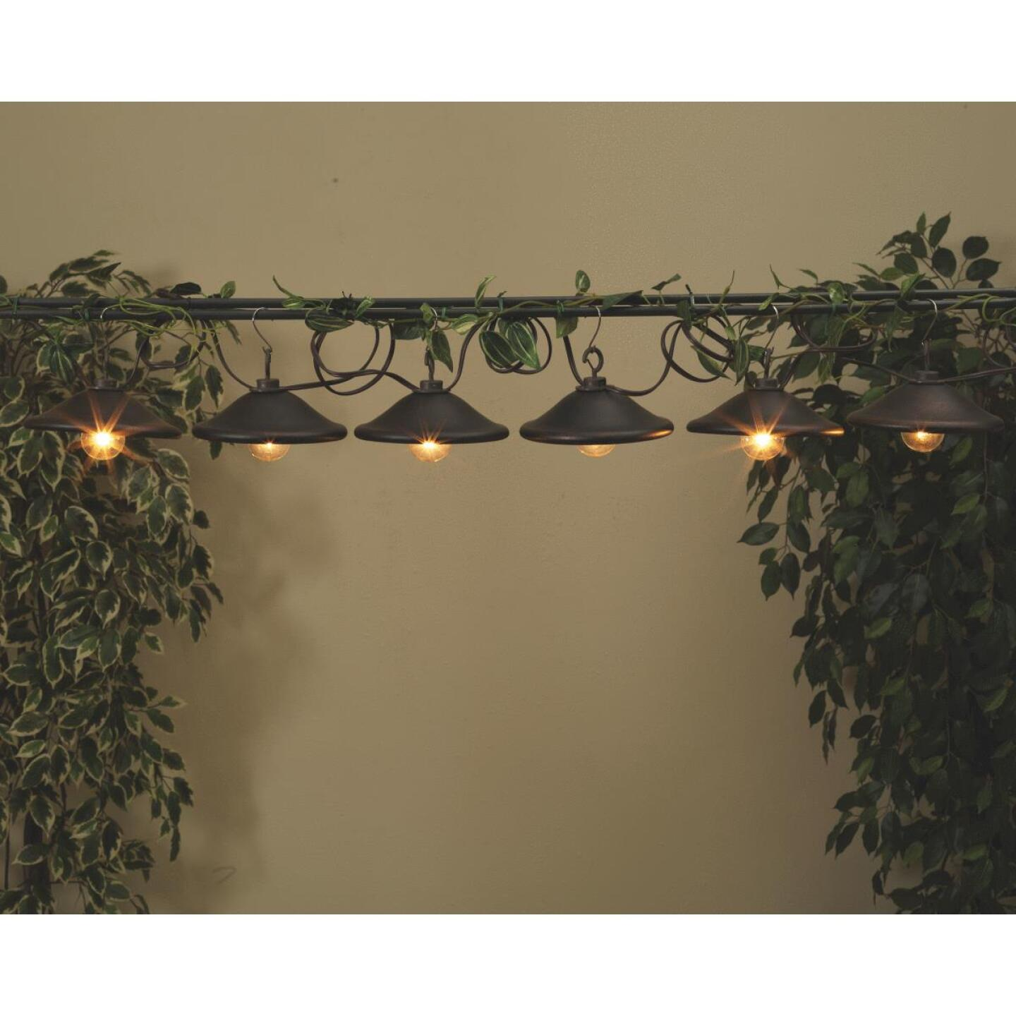 Gerson 10 Ft. 10-Light Clear Bronze Cover String Lights Image 2