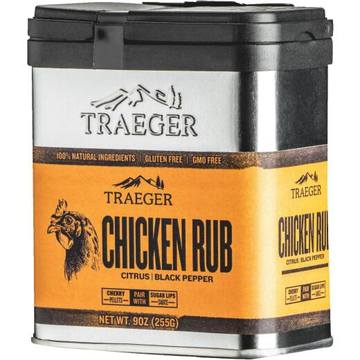 Traeger 9 Oz. Citrus & Black Pepper Flavor Chicken Rub