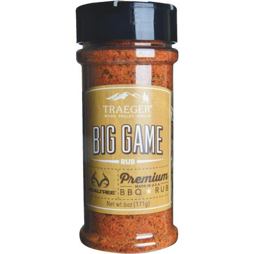Traeger Realtree 6 Oz. BBQ Flavor Big Game Rub