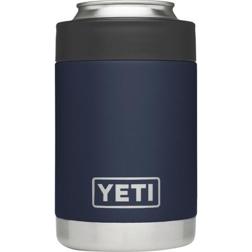 Yeti Rambler Colster 12 Oz. Navy Blue Stainless Steel Insulated Drink Holder