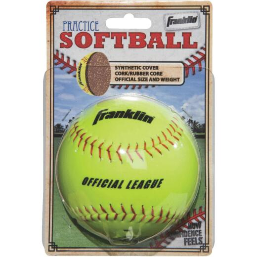 Franklin White Synthetic Softball