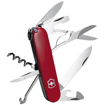 Victorinox Climber 13-Function 3-1/2 In. Red Swiss Army Knife