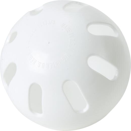 Regulation Size White Wiffle Ball