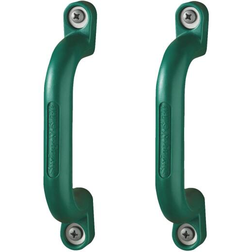 Swing N Slide Green Plastic Play Handle (2-Pack)