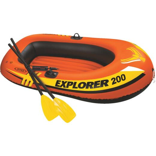 Intex 2-Person 13 Ga. Vinyl Explorer Raft Boat