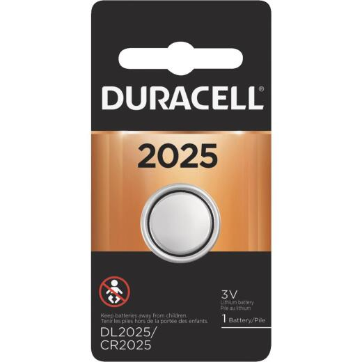 Duracell 2025 Lithium Coin Cell Battery
