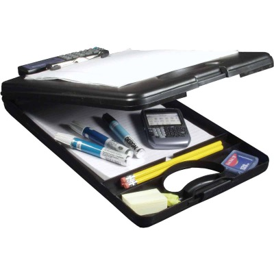 Saunders DeskMate II Letter Size Polypropylene 1/2 In. Clipboard with Calculator